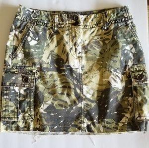 CAbi Camo Skirt